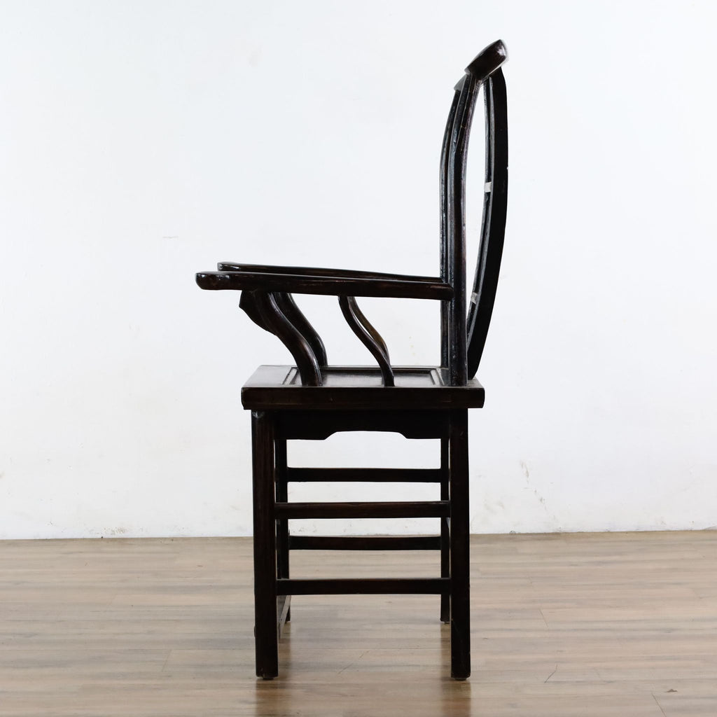 "Chinese ""Official's Hat"" Chair"