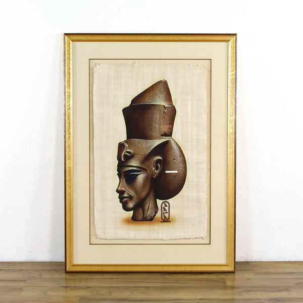 Framed Egyptian Painting