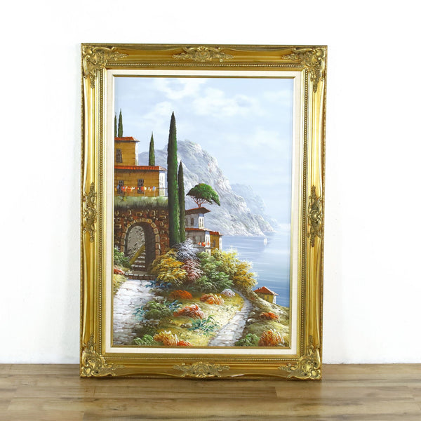 Framed Landscape Painting