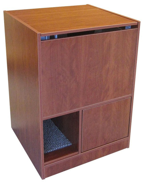 *Brand New* Out of Sight Litter Box - Mahogany
