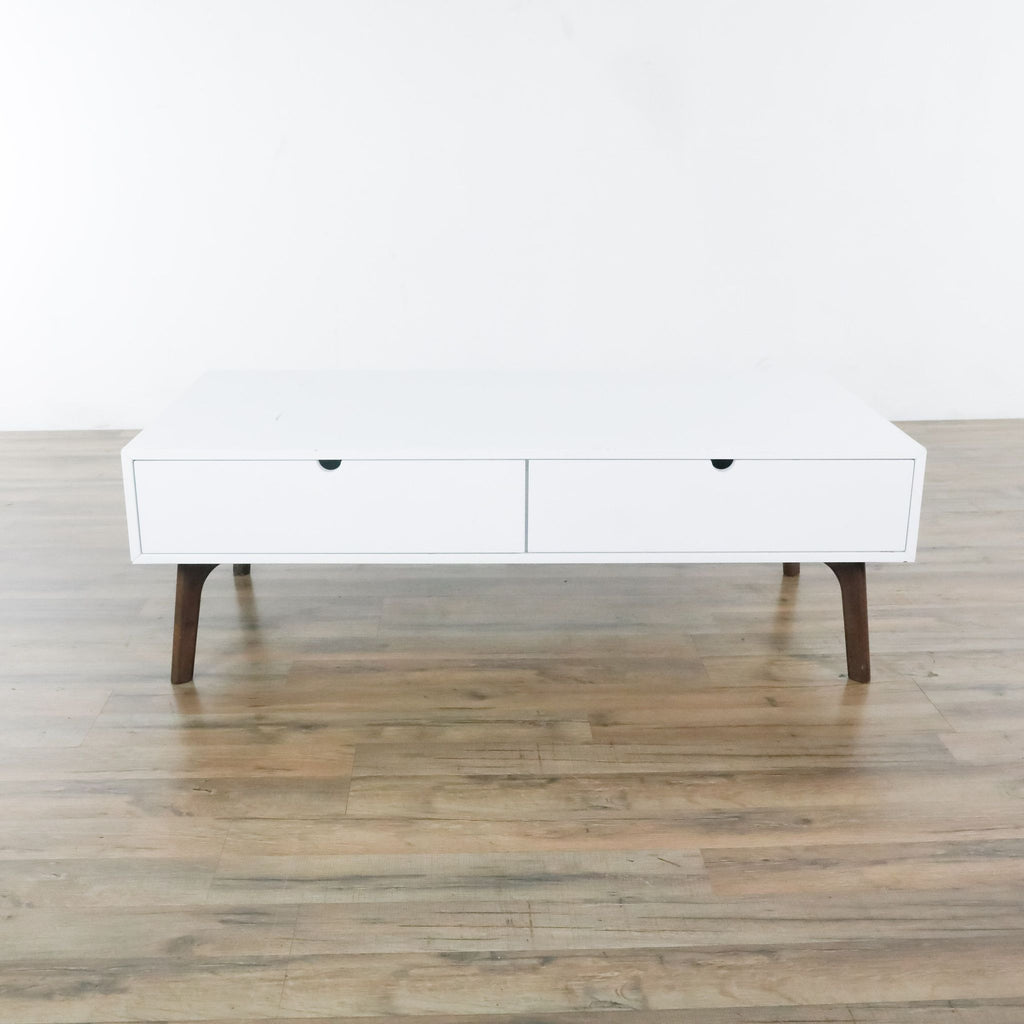 Zuo Modern Double Drawer Coffee Table