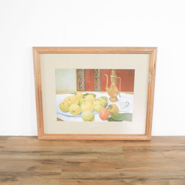Framed Still Life Painting