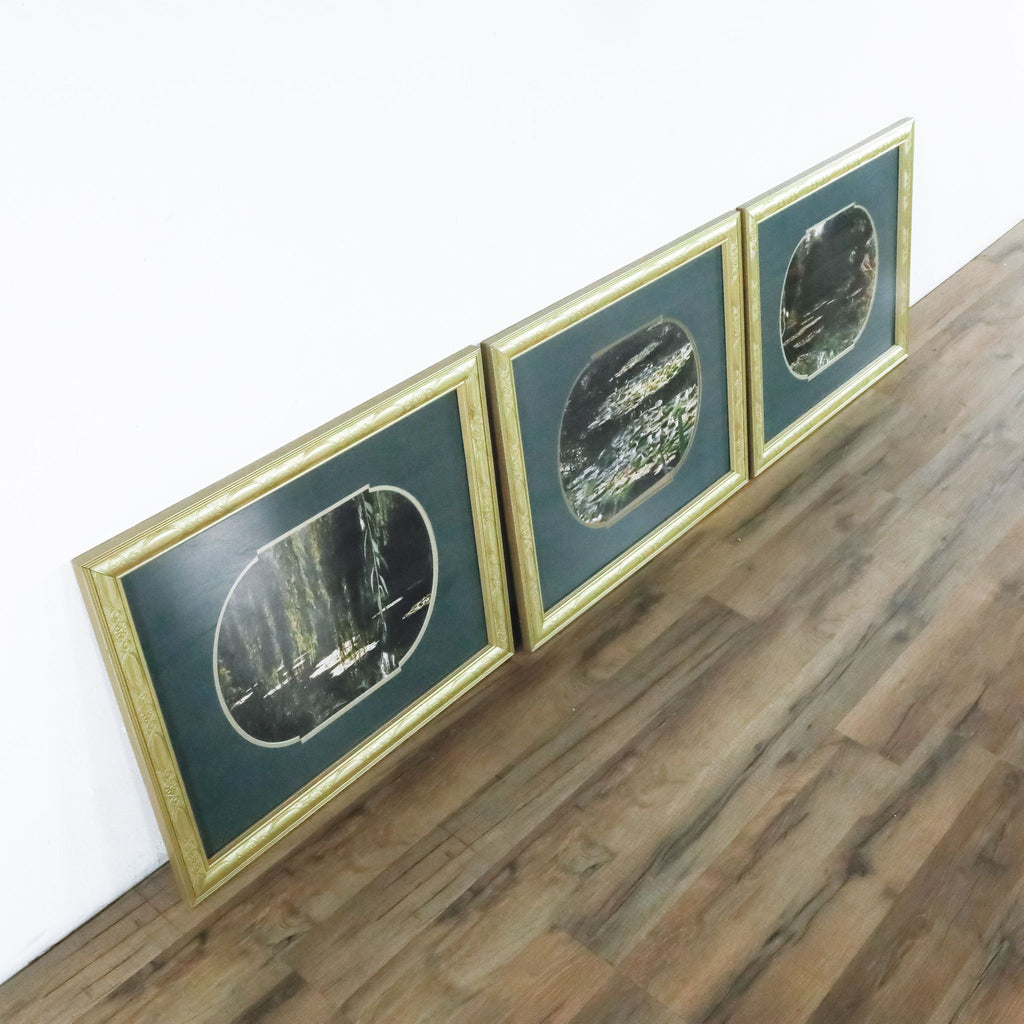 Framed Art Prints Set Of Three