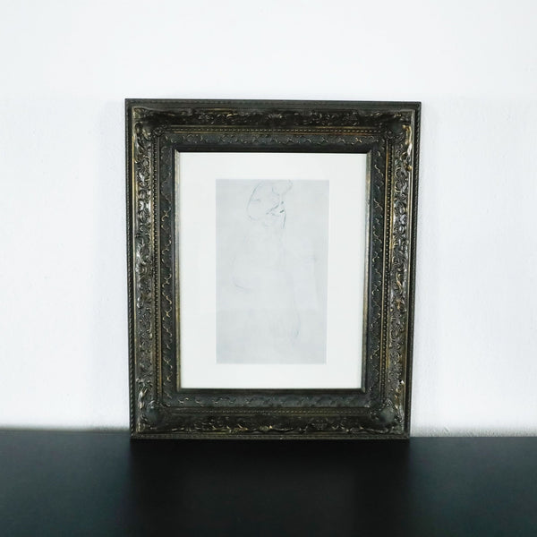 Framed Art Print of a Woman
