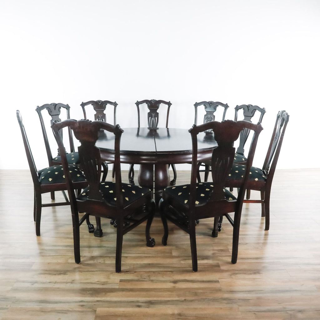 Ten-Piece Dining Set
