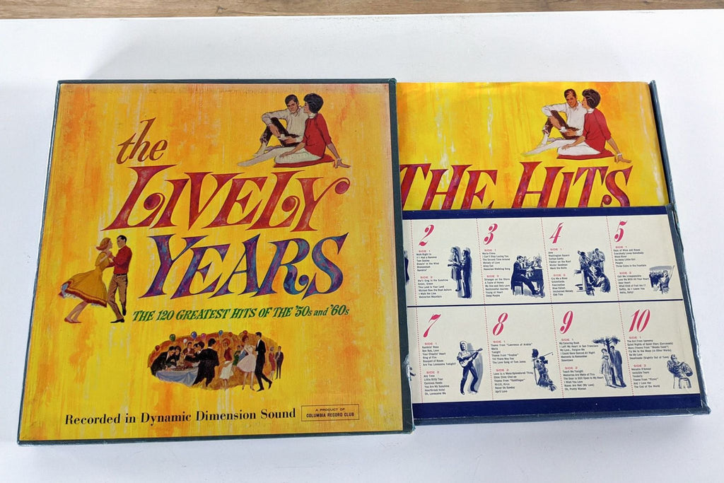 The Lively Years Vinyl