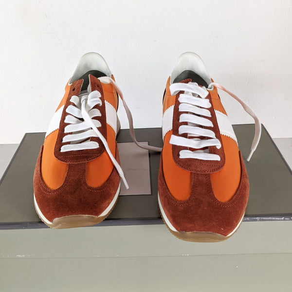 Tom Ford Orange Tennis Shoes