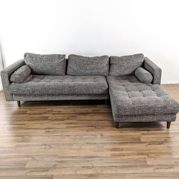 Article Sven Briar Gray Sectional Sofa