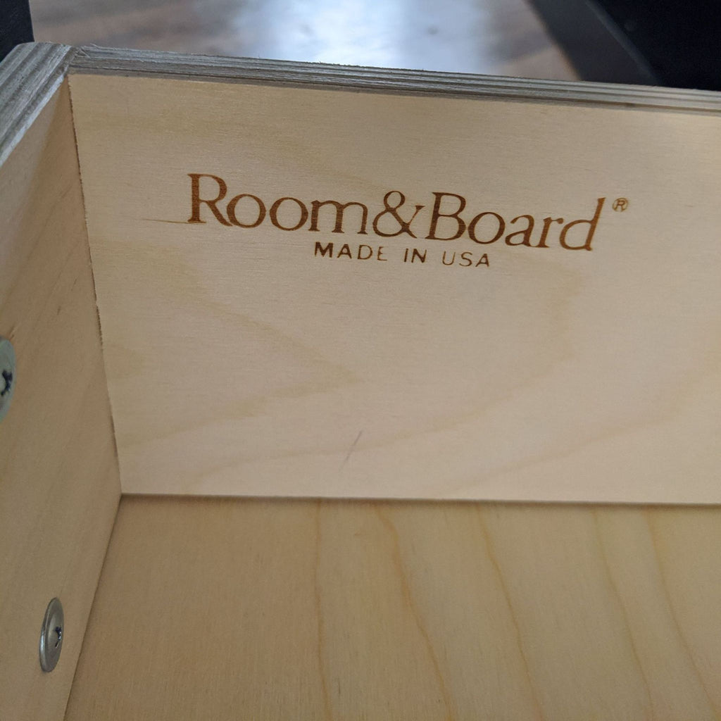 Room & Board Wooden Media Console