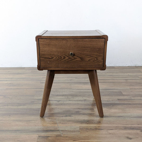 Mid-Century Modern Style End Table in Walnut