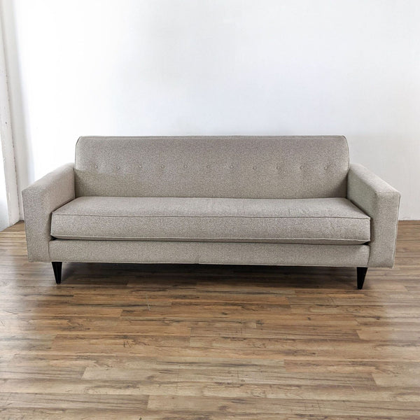 Gray Upholstered Sofa