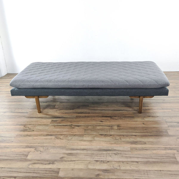 Gray Upholstered Daybed