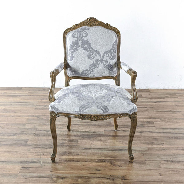 French Style Wooden Armchair