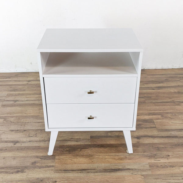 Wayfair Two Drawer Nightstand with Shelf