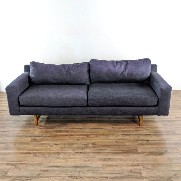 West Elm Gray Upholstered Sofa