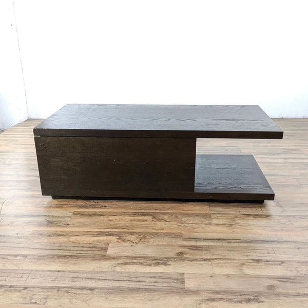 West Elm Sliding Top Storage Coffee Table