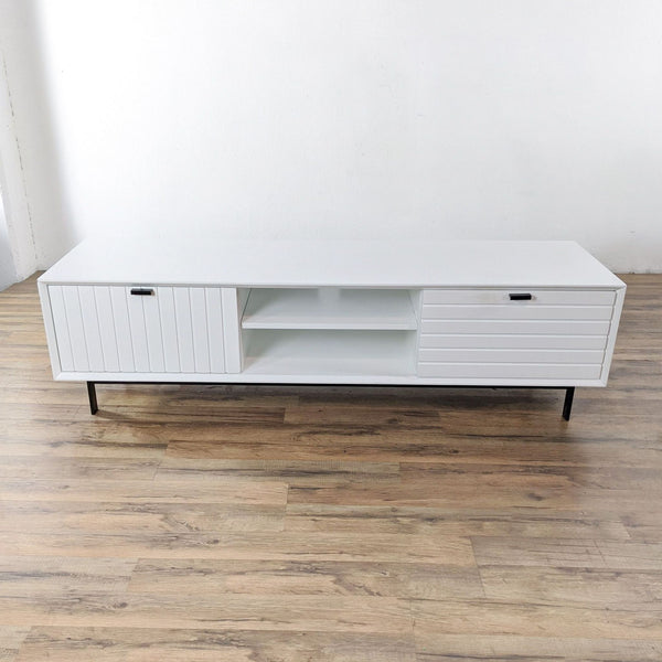 Vig Furniture Nova Domus Valencia White TV Stand