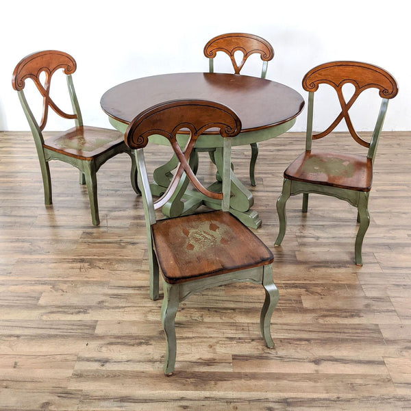 Pier 1 Imports Marchella Dining Set in Sage