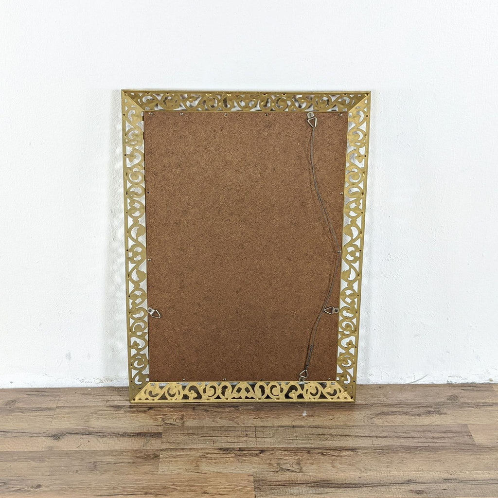 Gold Framed Wall Mirror