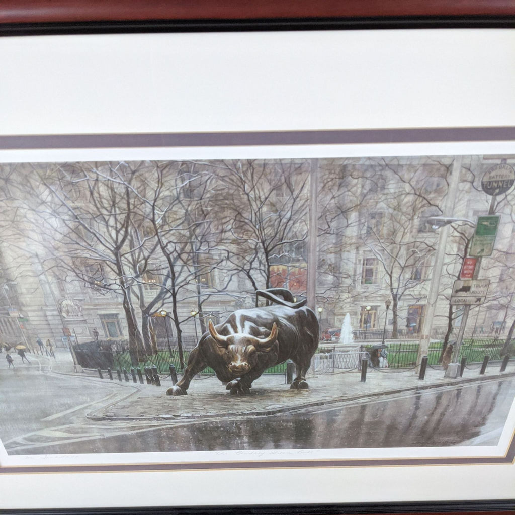 """The Bowling Green Bull"" by Lori Savastano"