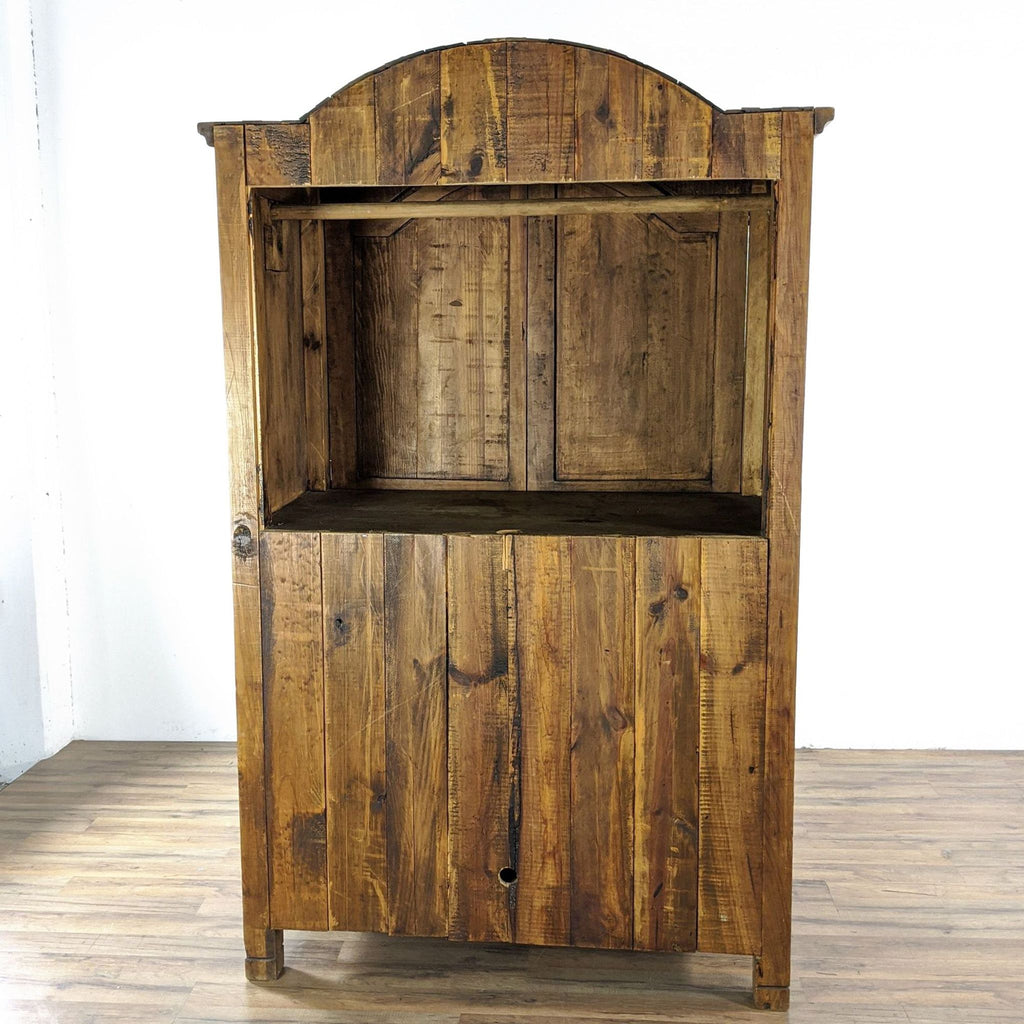 Casa Imports Large Solid Wood Entertainment Armoire