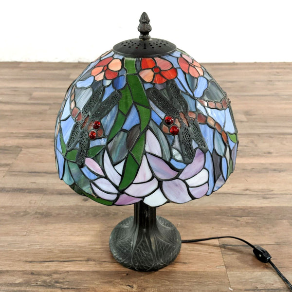 Tiffany Lamp with Dragonfly Design