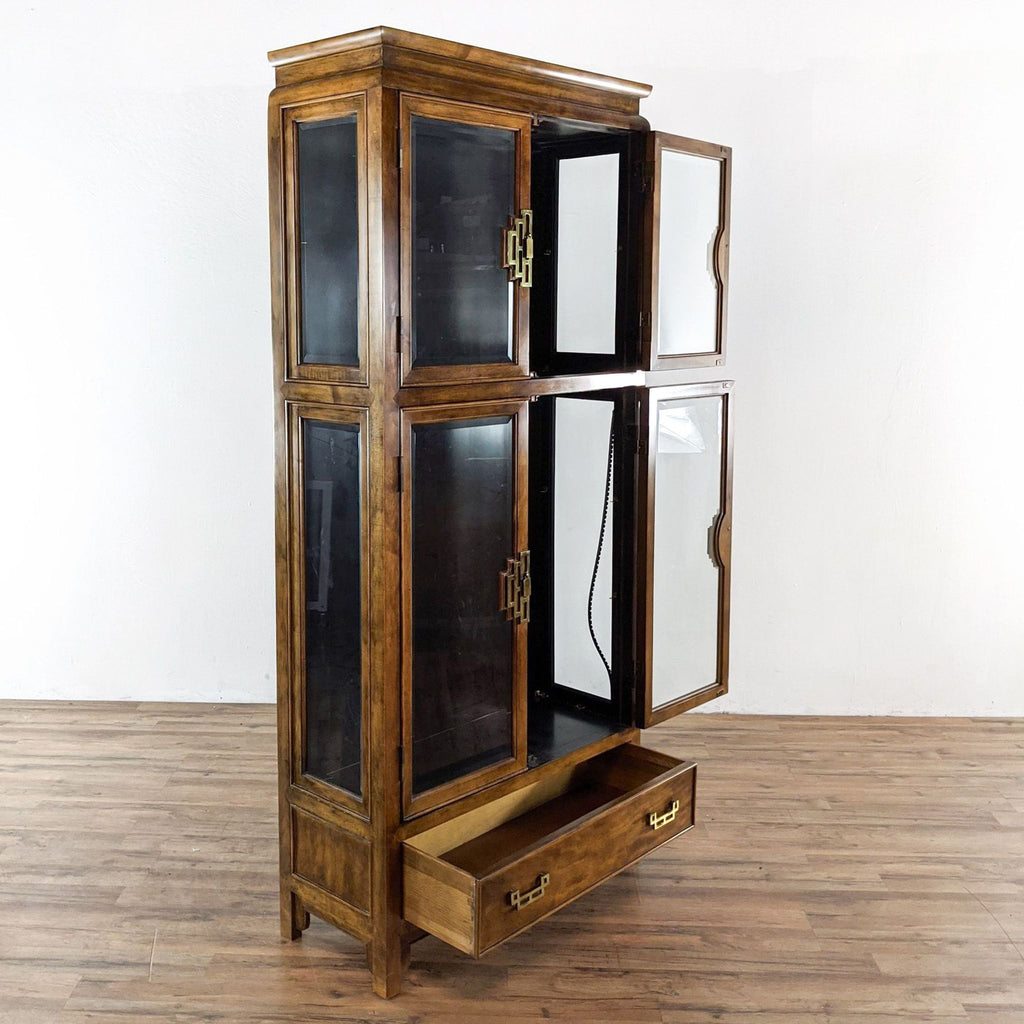 Century Electrified Display Cabinet