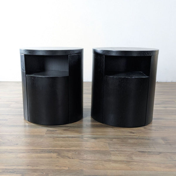 Pair of Apt2B Wooden Nightstands