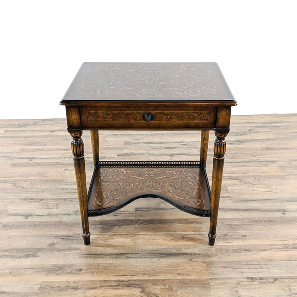 Two Tier End Table