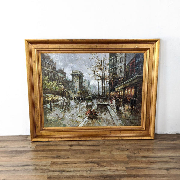 Large Oil on Canvas Painting by Darl S. Han