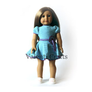 American girl doll dress pattern