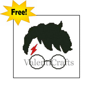 Harry Potter FREE cross stitch pattern