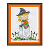Halloween Fairy Cross Stitch Pattern
