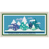Little winter mountains Cross Stitch Pattern