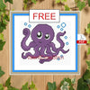 Octopus Cross Stitch Pattern
