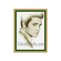 Elvis Presley Cross Stitch Pattern