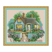 Cute House Cross Stitch Pattern