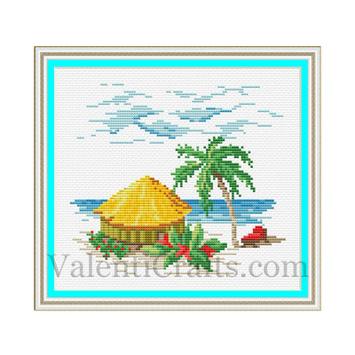 Summer Cross Stitch Pattern