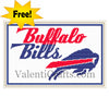 Buffalo Bills Free Cross Stitch Pattern