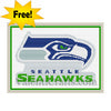 Seattle Seahawks Free Cross Stitch Pattern