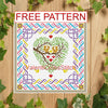 FREE cross stitch pattern Squirrel
