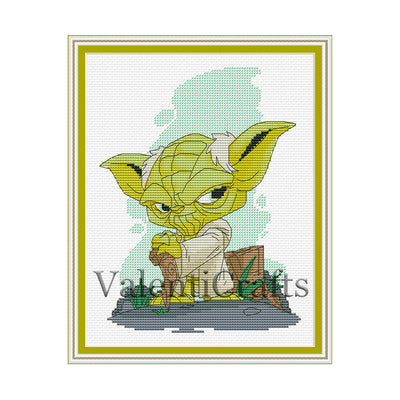 Yoda CrossStitch pattern