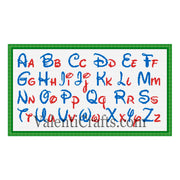 Disney Alphabet cross stitch pattern