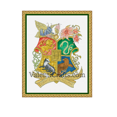 Hogwarts Cross Stitch Pattern
