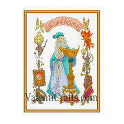 Albus Dumbledore Cross Stitch Pattern