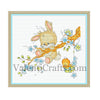 Little bunny cross stitch pattern