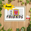 Friends TV show free Cross Stitch Pattern