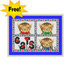 I love cats free cross stitch pattern