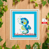 Sea Horse cross stitch pattern