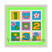 Baby Cross Stitch Pattern